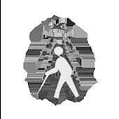 Logo da AssociaçãodeCegosSantaLuzia